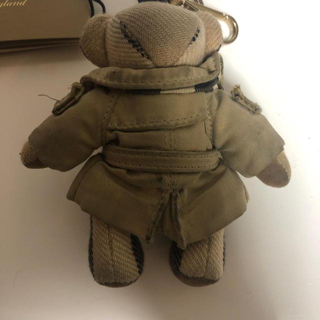 BURBERRY(バーバリー)のバーバリー クマちゃん バーバリーコートキーホルダー レディースのファッション小物(キーホルダー)の商品写真