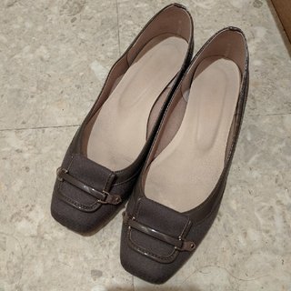 Le Talon - le talon ルタロン パンプス グレー 靴