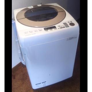 シャープ(SHARP)の最終値下げ 2015年製 SHARP 洗濯乾燥機 ES-GV90R 大容量9kg(洗濯機)