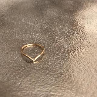 ココシュニック(COCOSHNIK)のK10ココシュニックピンキーリング(リング(指輪))