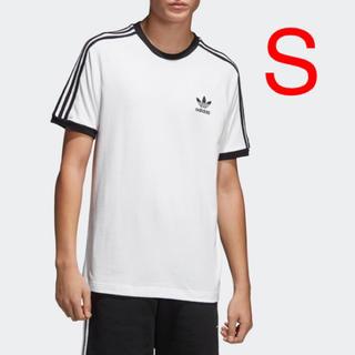 アディダス(adidas)のアディダス S 白 3ストライプ Tシャツ CW1203(Tシャツ/カットソー(半袖/袖なし))