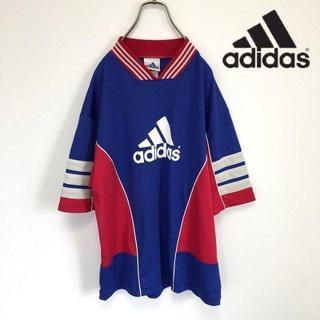 アディダス(adidas)の90s adidas アディダス ゲームシャツ Tシャツ(Tシャツ/カットソー(半袖/袖なし))