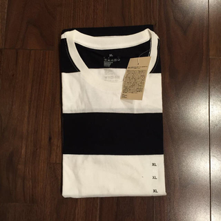 ムジルシリョウヒン(MUJI (無印良品))の無印良品 ボーダーTee(Tシャツ(半袖/袖なし))