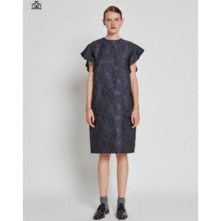 ドゥロワー(Drawer)のりんご様専用  drawer 2018SS ジャガード ドレス 超美品(ひざ丈ワンピース)