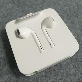 アップル(Apple)の★新品未使用★ iPhoneXS 付属 Apple純正イヤホン(7 8 XR)(ヘッドフォン/イヤフォン)