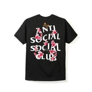 アンチ(ANTI)のL 新品【Anti Social Social Club】桜 Tシャツ(Tシャツ/カットソー(半袖/袖なし))