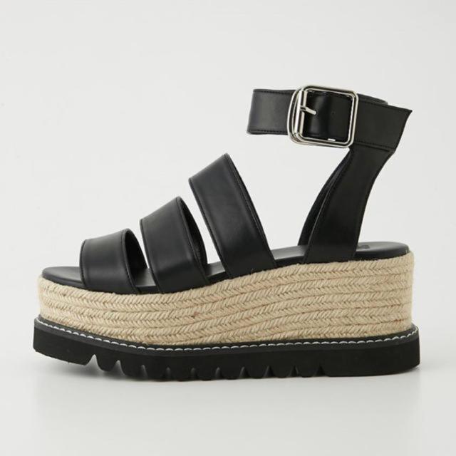 SLY(スライ)のSLY 厚底サンダル レディースの靴/シューズ(サンダル)の商品写真