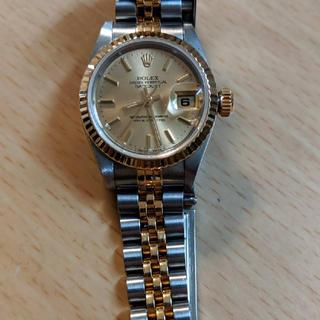 9afbcc8485 ロレックス(ROLEX)のロレックス デイトジャスト レディース コンビ(腕時計)