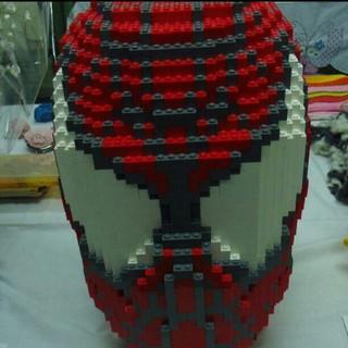 レゴ(Lego)のレゴブロックで、作った、スパイダーマンと、スヌーピー(その他)