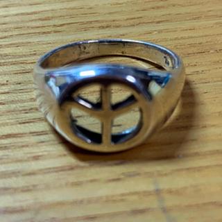 リング メンズ ピースマーク 20号(リング(指輪))