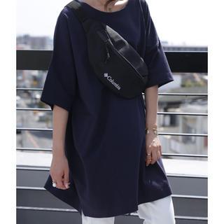 アンティカ(antiqua)の大人気!antiqua バスクTシャツ ネイビー サイズXL(Tシャツ(半袖/袖なし))