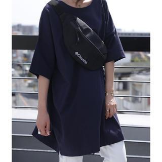アンティカ(antiqua)の大人気!antiqua バスクTシャツ ネイビー サイズL(Tシャツ(半袖/袖なし))