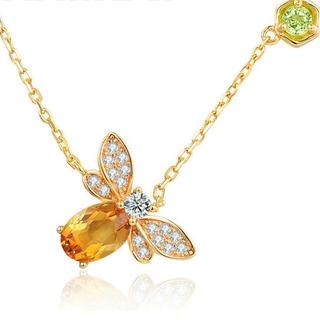 レディー(Rady)のゴールドミツバチのネックレス(ネックレス)