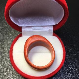 新品 ボリューム感あり 珊瑚 指輪 リング 21号 (リング(指輪))