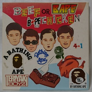 A BATHING APE - TERIYAKI BOYZ  Beef or Chicken