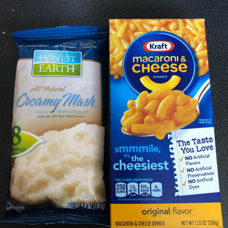 コストコ - コストコ マカロニチーズ、マッシュポテト 1つずつ