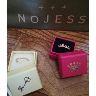 ノジェス(NOJESS)のノジェスピンキーリングセット(リング(指輪))