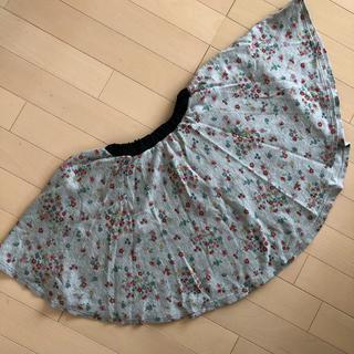 ブリーズ(BREEZE)のブリーズ 花柄 フレア スカート 120(スカート)