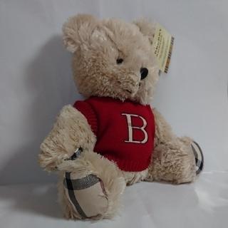 バーバリー(BURBERRY)の【BURBERRY】テディベア FRAGRANCEノベルティ (ぬいぐるみ)