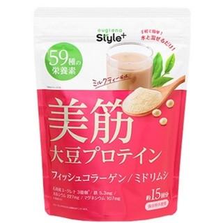 アサヒ(アサヒ)のeuglena(ユーグレナ)+大豆プロテインミルクティー味(プロテイン)