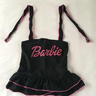 バービー(Barbie)のバービー幼児用水着 Lサイズ(27cmくらい)(水着)