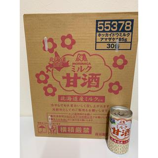 モリナガニュウギョウ(森永乳業)のMORINAGA 北海道限定 ミルク甘酒 1ケース 30缶入(ソフトドリンク)
