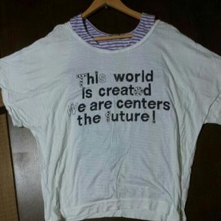 シネマクラブ(CINEMA CLUB)のドルマンT & ボーダータンク(Tシャツ(半袖/袖なし))
