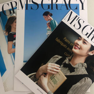 エムズグレイシー(M'S GRACY)のm's gracy  最新カタログ セット 3冊(ファッション)