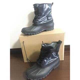 マークジェイコブス(MARC JACOBS)のMARC JACOBS × native レインブーツ(ブラックインディゴ)(レインブーツ/長靴)