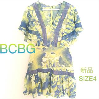ビーシービージーマックスアズリア(BCBGMAXAZRIA)のBCBG☆サマーワンピ(ひざ丈ワンピース)