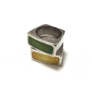 セレクト取扱シルバー2連リング(リング(指輪))