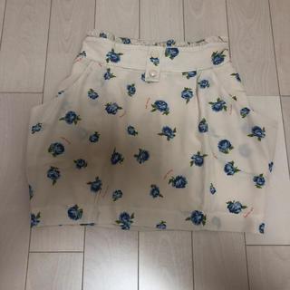 マーキュリーデュオ(MERCURYDUO)の定価12000円 激安‼︎ ボニカドット花柄スカート(ミニスカート)