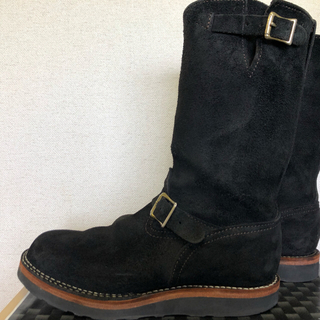 ウエスコ(Wesco)の美品 ウエスコ  ボス  カスタム  ブラックラウア 11D(ブーツ)