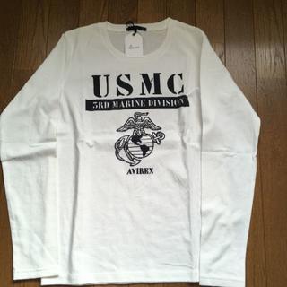 アヴィレックス(AVIREX)のAVIREX ロングTシャツ  新品・未使用(Tシャツ(長袖/七分))