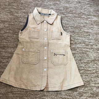 コシノジュンコ(JUNKO KOSHINO)のジュンココシノ 95cm ジャンパースカート(ワンピース)