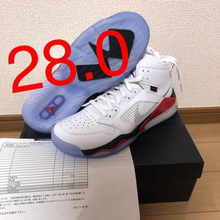 ナイキ(NIKE)の【28】NIKE JORDAN MARS 270 FIRE RED(スニーカー)