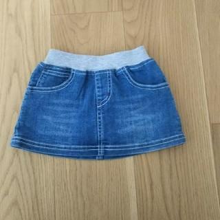 ニシマツヤ(西松屋)の80 デニム スカート(スカート)