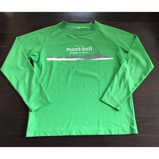 mont bell - モンベルmont-bell★ロングTシャツ150グリーン