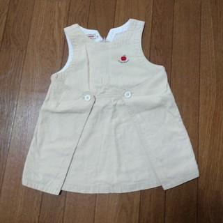 ミキハウス(mikihouse)のミキハウス ジャンパースカート 80cm(スカート)