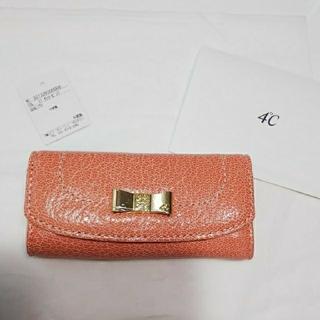ヨンドシー(4℃)の4℃🍀キーケース ピンク②(キーケース)