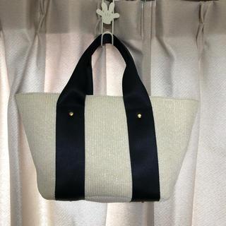 しまむら - 新品 MUMUさん コラボ デザインかごバッグ