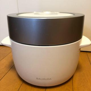 バルミューダ(BALMUDA)のバルミューダ  炊飯器 今週限り 最終 期間限定(調理機器)