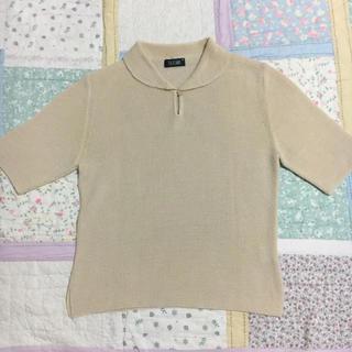 エディットフォールル(EDIT.FOR LULU)の古着 vintage リネン混サマーニット(カットソー(半袖/袖なし))