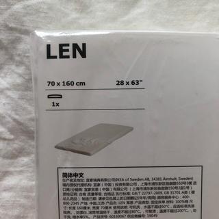 イケア(IKEA)のIKEA キッズ ボックスシーツ ( LEN )(シーツ/カバー)