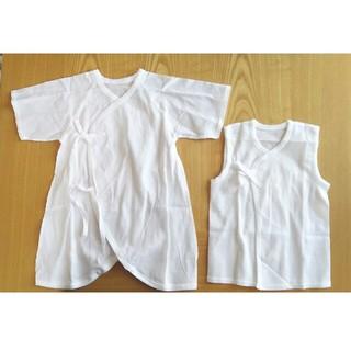 ニシマツヤ(西松屋)の新生児 肌着 50~60(肌着/下着)
