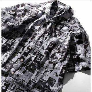 プレイボーイ(PLAYBOY)のPLAYBOY オープンカラーシャツ(シャツ)