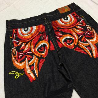 クージー(COOGI)の90's Coogi クージー ジーンズ ビッグサイズ 刺繍 サイズ42(デニム/ジーンズ)