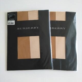 バーバリー(BURBERRY)のストッキング Size:M~L カラー:ベージュティント(タイツ/ストッキング)