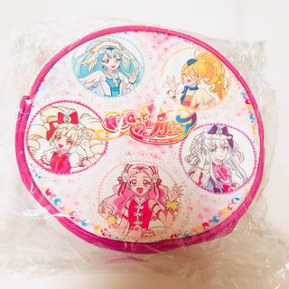 バンダイ(BANDAI)の【新品】はぐっとプリキュア 丸型 ショルダーバッグ 鞄 カバン ピンク(その他)