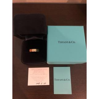 ティファニー(Tiffany & Co.)のtiffany ティファニー Tナロー リング 18K YG 21号(リング(指輪))